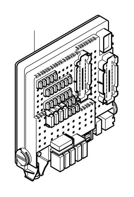 2011 volvo s60 compartment fuse box diagram