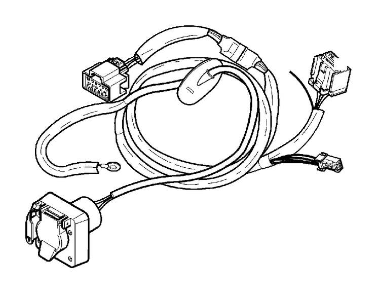 volvo xc90 trailer wiring harness