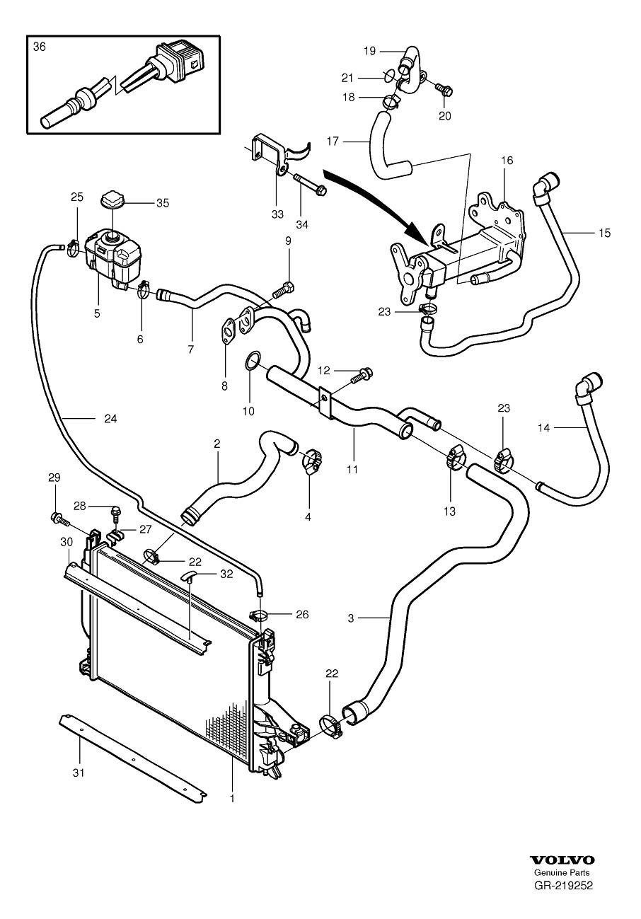 04 volvo xc90 engine diagram