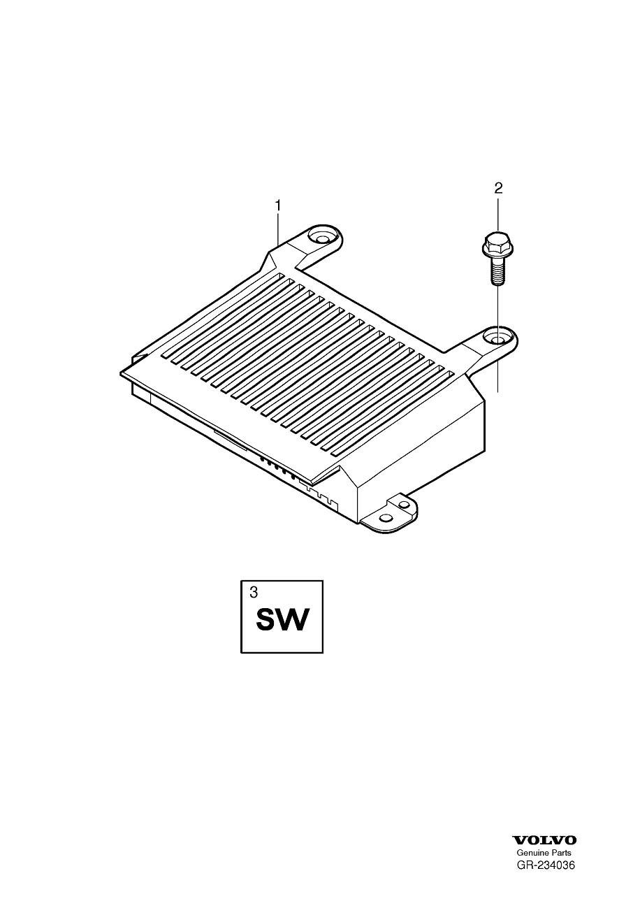 speaker wiring harness volvo 2015