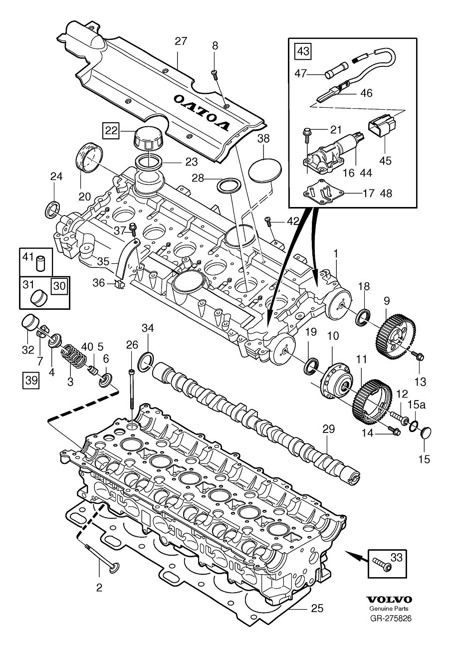 Volvo 940 Fuse Box Diagram On A 1994 Auto Electrical Wiring Tow Harness 6l2t 14407 C Parts For 1996 960