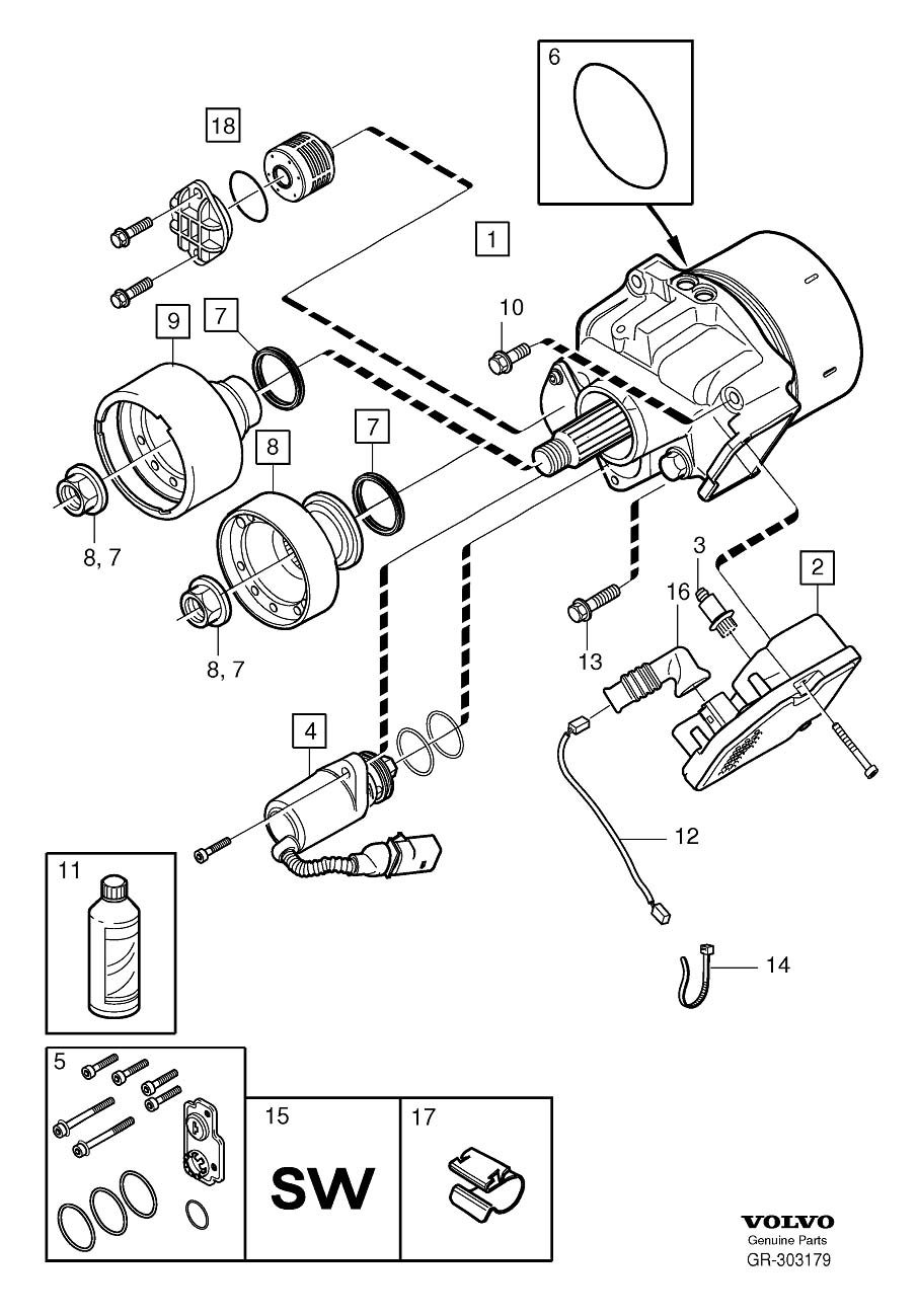 volvo xc60 fuel filter location