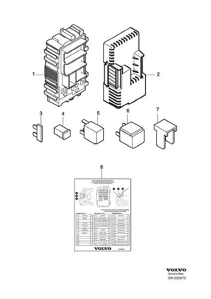 2013 volvo xc60 fuse box