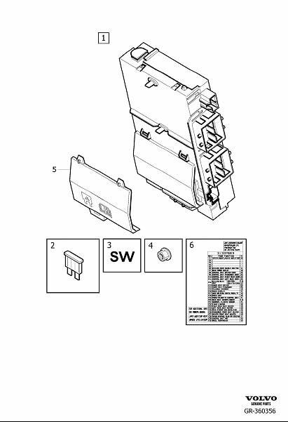 xc90 fuse boxes