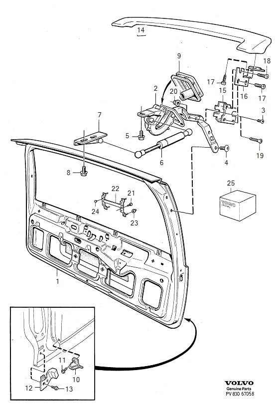 volvo s40 trunk wiring diagram