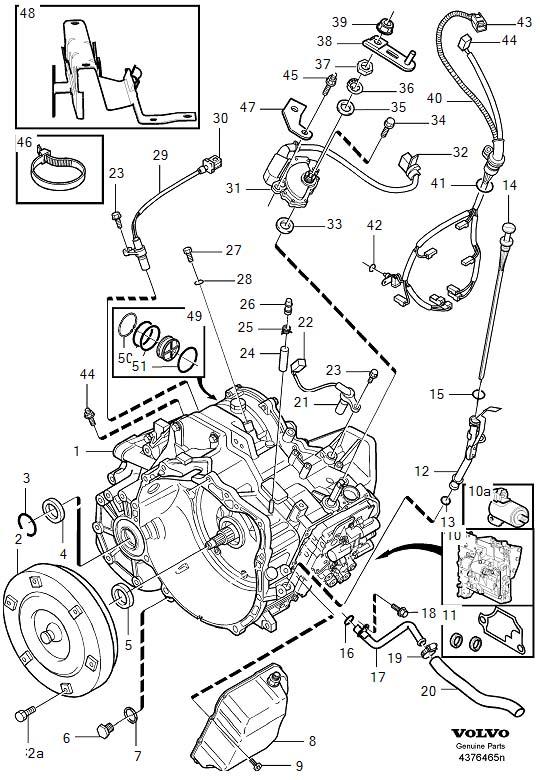 2001 volvo c70 engine diagram