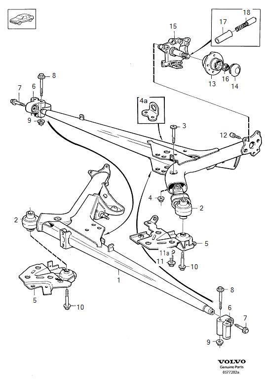 1998 volvo suspension diagram