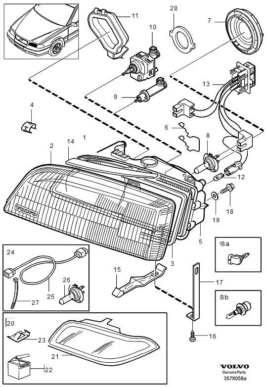 2000 volvo s40 headlight wiring diagram