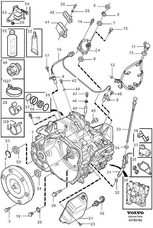 volvo t6 engine breakdown diagram