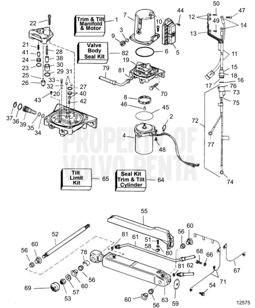 perfprotechcommercruiser power trim system