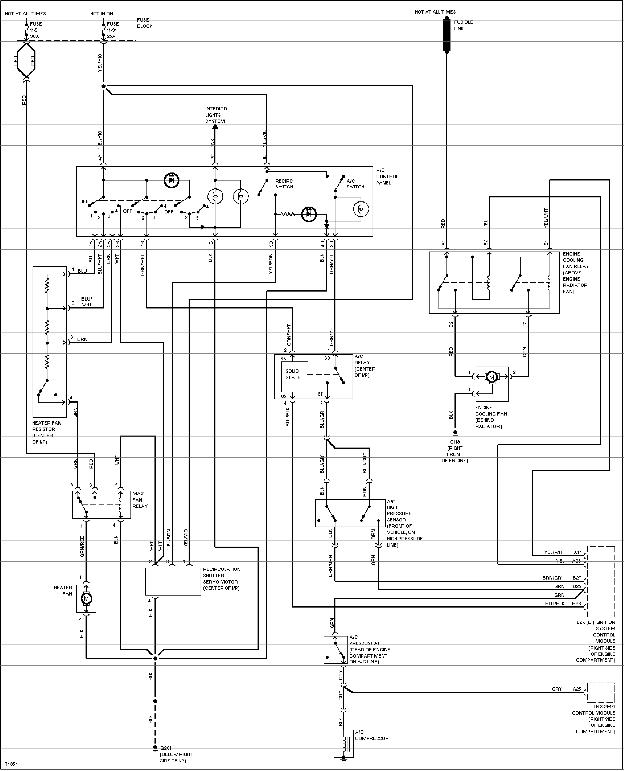 volvo window motor wiring diagram