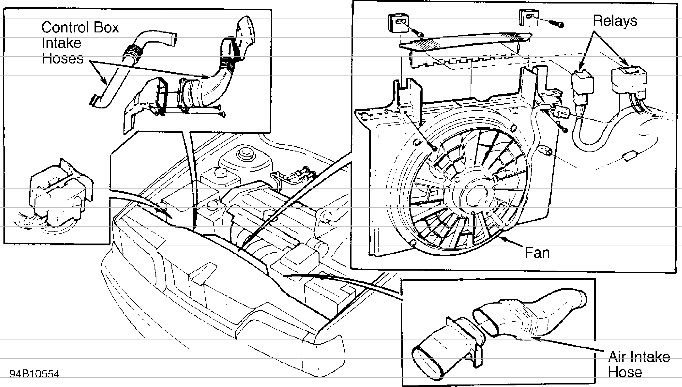 volvo 940 cooling fan wiring diagram