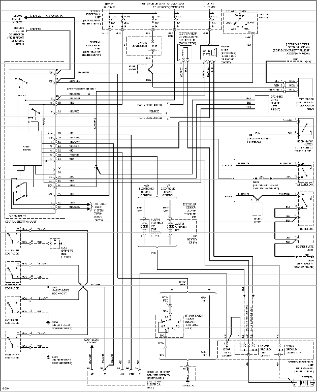 volvo alarm wiring diagram