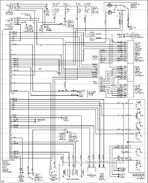 volvo wiring diagram 850
