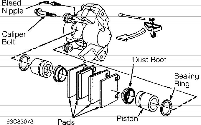 volvo brakes diagram
