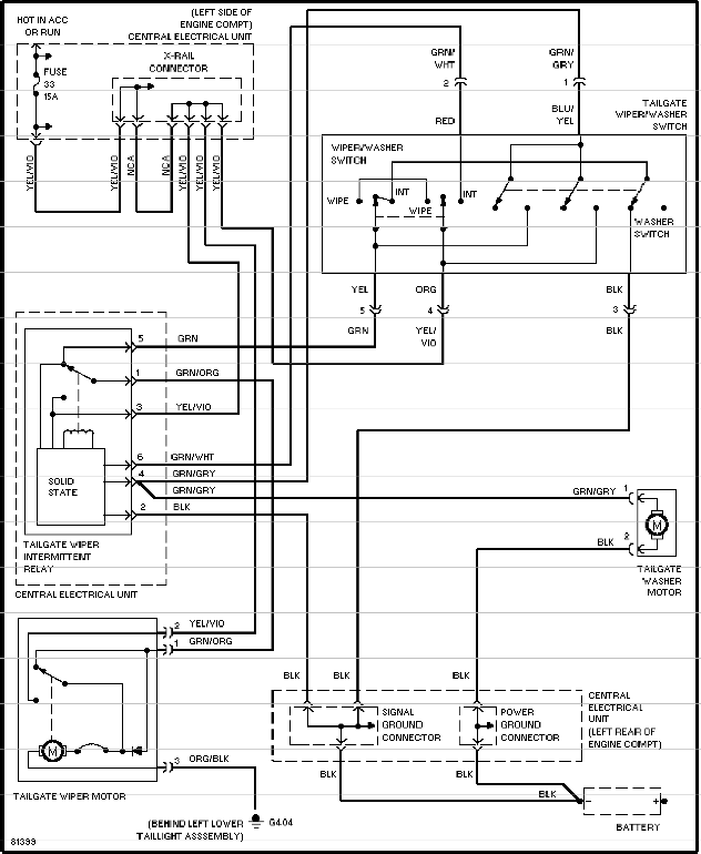 engine wiring diagram 1996 volvo 850