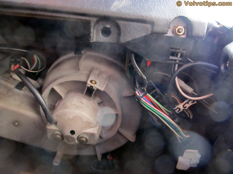How to fix a 740 940 heater motor resistor Volvotips