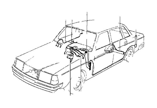 volvo 240 wiring harness replacement