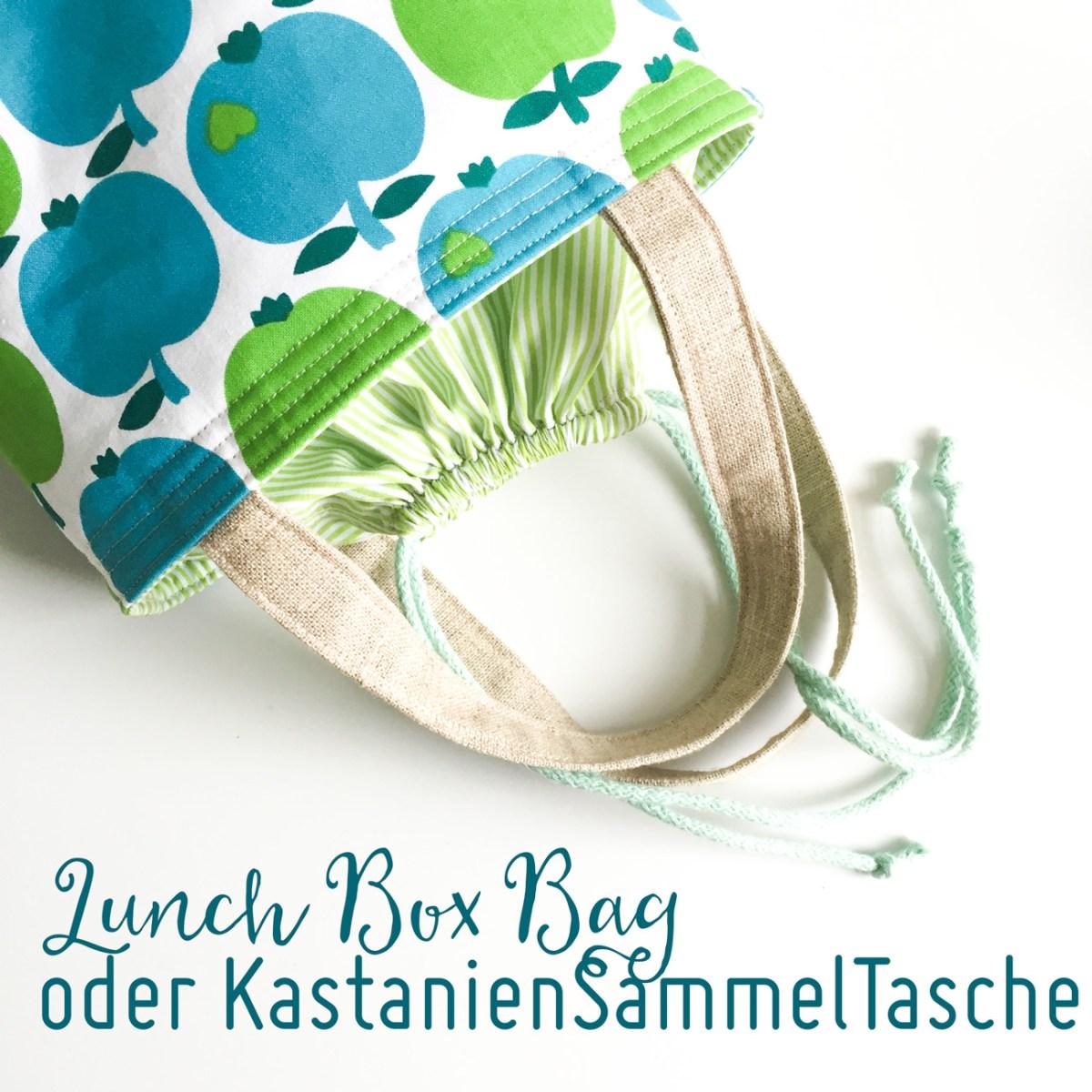 Neue Lunch Box Bag oder aber die weltbeste Kastaniensammeltasche - Gewinnspiel