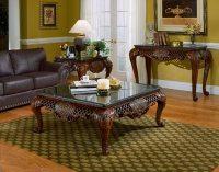Winston Marble High End Coffee Table Set   Von Furniture