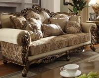 Golden Victorian Formal LIving Room Set | Free Shipping