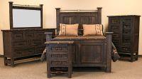 Von Furniture | Las Piedras Rustic Bedroom Set