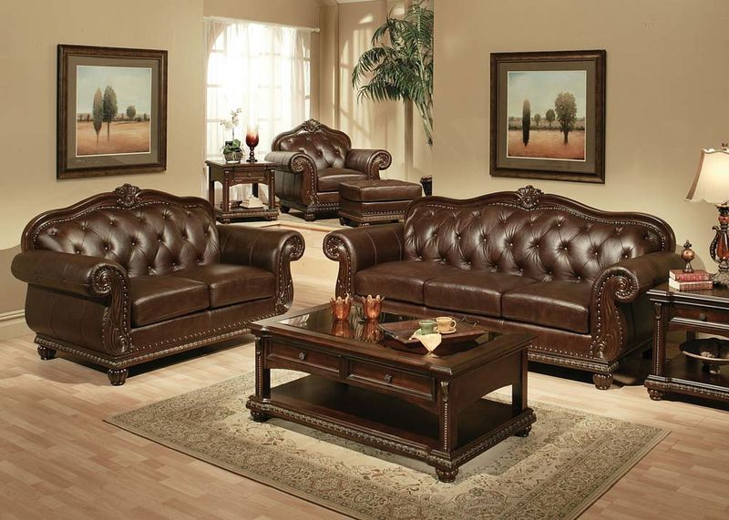 Living Room Furniture Sets Von Furniture - formal living room chairs