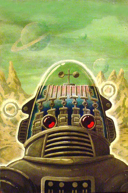 Robby (From Forbidden Planet)