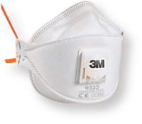 Modelo de mascarilla para evitar contagios de gripe