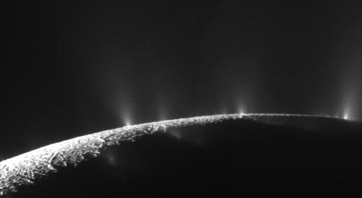 Encelado visto por Cassini