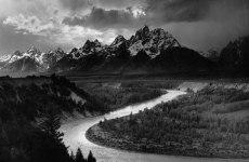 Montañas Tetons y el rio Snake