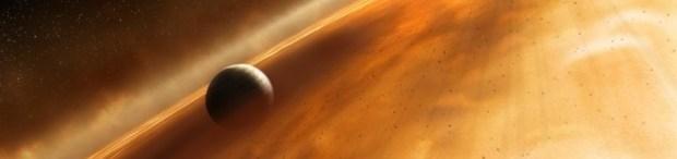 Simulación de un exoplaneta