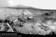 Primera perforación marciana