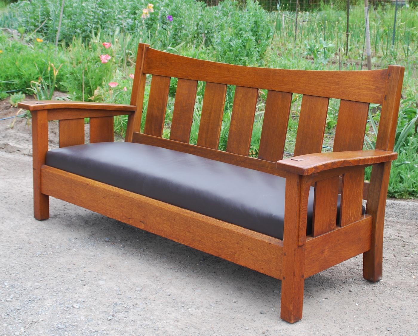 Voorhees Craftsman Mission Oak Furniture Original L J