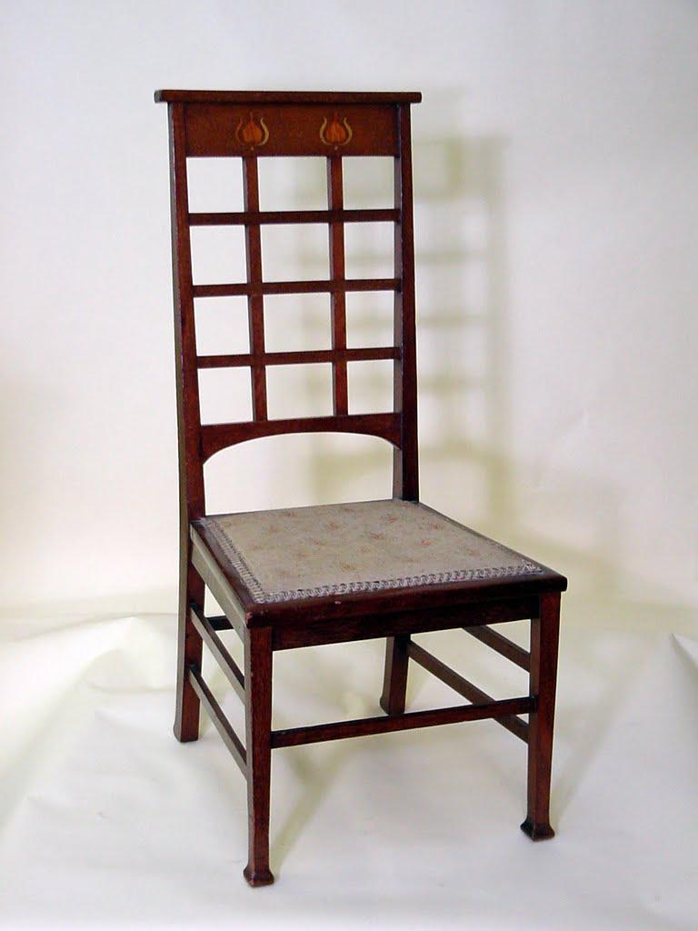 Voorhees Craftsman Mission Oak Furniture English Arts