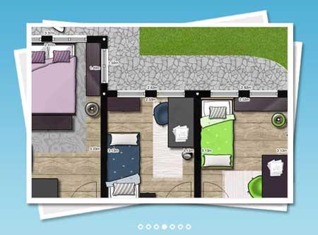Grundriss wohnung haus selber zeichnen mit floorplaner for Wohnung zeichnen 3d