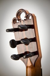 Experimental Classical Guitar, V-Joint Detail