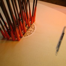 Glueing Rosette Braces