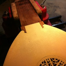 The Fingerboard Ends Before Glueing