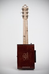 Cigar Box Guitar: Back View