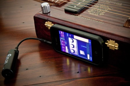 2013 Cigar Box Guitar: Mobile Device Integration Setup