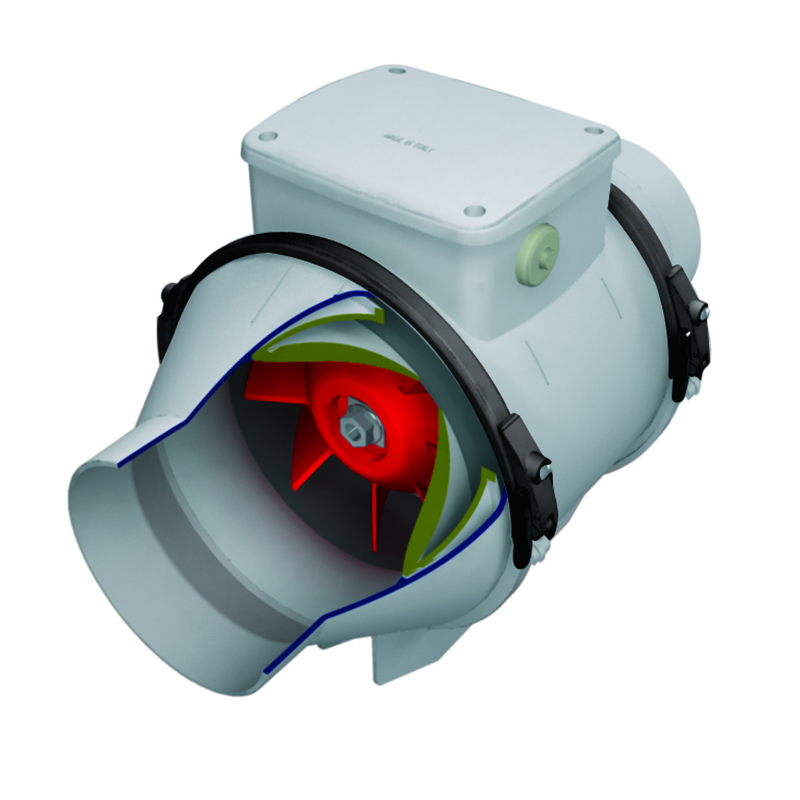 LINEO 100 V0 ES - COMMERCIAL VENTILATION MIXED FLOW FANS Vortice
