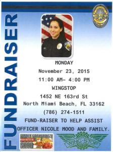 Fundraiser for Officer Nicole Mood