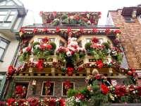 Dco balcon pour noel - Exemples d'amnagements