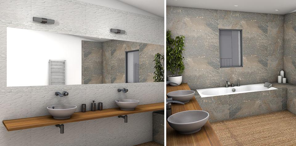 Déco salle de bain nature zen - Exemples d\u0027aménagements
