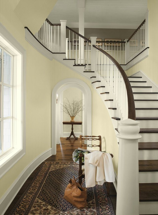 Interior Paint Ideas and Inspiration Paint color schemes, Benjamin