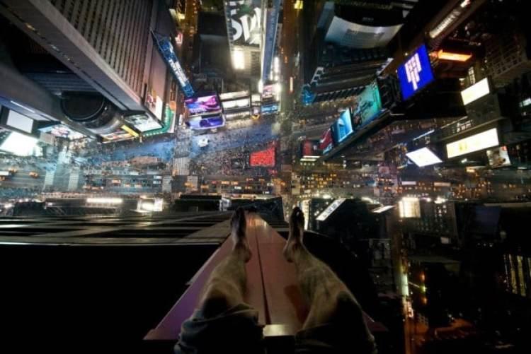 Times Square de nuit, c'est magnifique !
