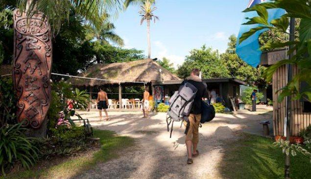 Bamboo backpackers