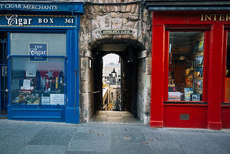 Les ruelles d'Edimbourg pourraient vous emmener vers de nouvelles aventures !