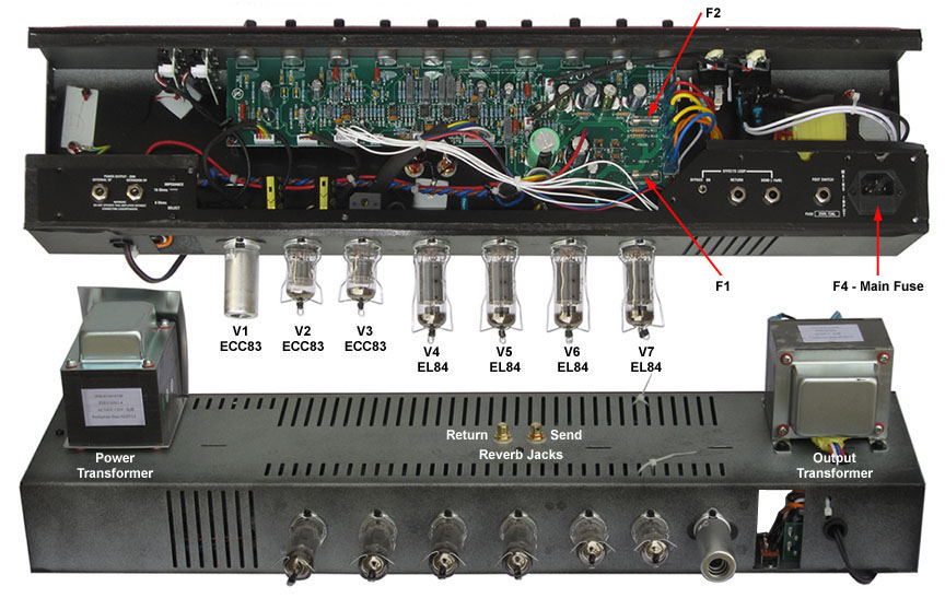 Vox Ac30 Wiring Control Cables  Wiring Diagram